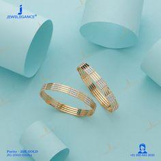 Plain Gold Bangles, Gold Bangles Design, Gold Jewellery Design, Gold Jewelry, Women Jewelry, Bridal Jewelry, Fancy Jewellery, Latest Jewellery, Bangle Set