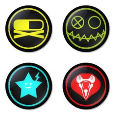 "MY CHEMICAL ROMANCE 1.75"" Badges Pinbacks, Mirror, Magnet, Bottle Opener Keychain http://www.amazon.com/gp/product/B00ERSNV5M"