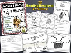 This complete unit is perfect for book clubs, literature circles or a whole class novel study! Engaging reading responses, discussion group questions, vocabulary cards, writing activities, an end of the book assessment, plus SO much more is included in this complete unit.