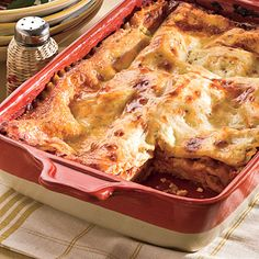 Classic Lasagna - 101 Best Classic Comfort Food Recipes - Southern Living