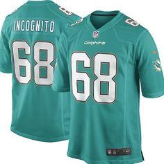 d04be708 richie incognito jersey ... Men Miami Dolphins 68 Incognito White ...