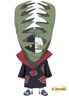 Render Chibi Zetsu by on DeviantArt Naruto Sd, Naruto Shippuden Sasuke, Itachi, Anime Naruto, Naruto Sasuke Sakura, Naruto Cute, Hinata, Boruto, Anime Chibi