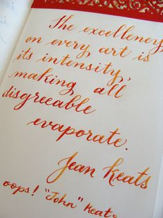 Just love using my custom 742 and apache sunset ink! Close up of the beautiful variation in that ink!
