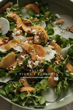 Quince and turnip salad / Sałata z pigwą i rzodkwią