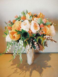 Fall garden bouquet $300