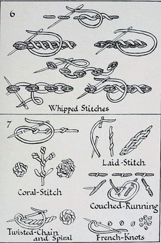 Basic Embroidery Stitches, Wool Embroidery, Sewing Stitches, Silk Ribbon Embroidery, Hand Embroidery Patterns, Embroidery Techniques, Cross Stitch Embroidery, Stitch Book, Quilt Stitching