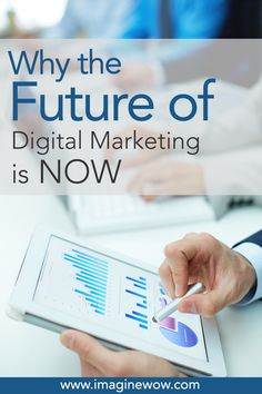 Why The Future of Digital Marketing is Now Digital Marketing, Future, Future Tense