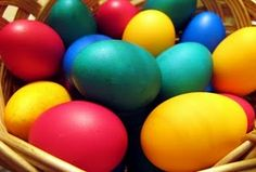 homemade easter egg dye - my plan for this Easter!