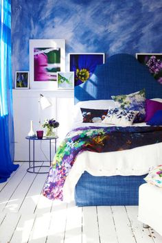 1000 ideas about royal blue bedrooms on pinterest blue Paint colors for calming effect