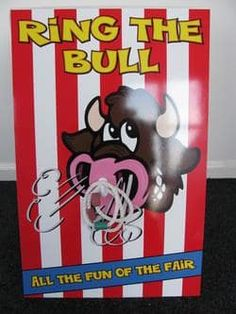 Ring The Bull Game (Side Stall Game) - Bouncy Castles & Soft Play Hire In Wolverhampton, West Mids in Wolverhampton, Walsall, Bilston, West Midlands, Cannock, Dudley, Willenhall
