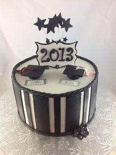 Graduation cake. Facebook.com/VentidesignCakes