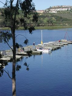 Rent a boat on San Diego's Miramar Lake.- Amy Laurel @twotramps