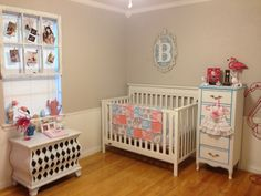 Alice In Wonderland Vintage Baby Room Pink And Blue Nursery