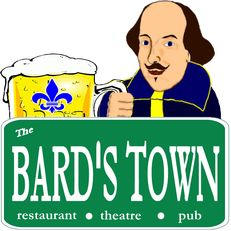 """Louisville, KY - The Bard's Town - After a fellowship at Shakespeare's Globe in London, co-owner Doug Schutte opened the space, which houses both a restaurant and a theater. Appetizers (or """"prologues"""") include themed versions of pub fare, and all sandwiches are served with Merry Fries of Windsor. Test your knowledge of the bard during weekly trivia nights or see what's playing on the stage, which is home to several local theater companies."""