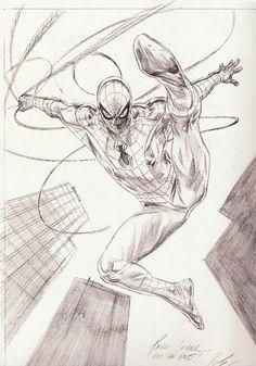 Doug Braithwaite´s Spiderman Comic Art-amazing