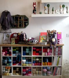 Loop Yarn Shop in Londond...oh dreamy wool filled place....