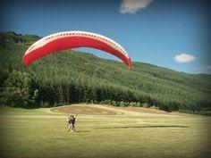 Paragliding in Arrowtown, NZ