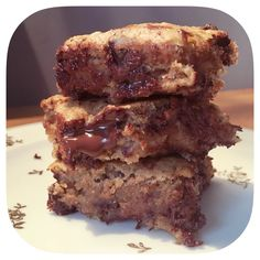 Banana-Brownie - On Wednesday, it& spaghetti Vegan Brownie, Vegan Cake, Brownie Recipes, My Favorite Food, Favorite Recipes, Banana Brownies, Light Cakes, Bowl Cake, Ww Desserts