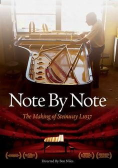 Note by Note: The Making of Steinway L1037 (2007) Documentary filmmaker Ben Niles chronicles the creation of Steinway pianos and the vanishing breed of craftsmen who build them. Follow the journey of these beautifully handcrafted, unique instruments from the factory to great concert halls. Interviews with such world-famous artists as Lang Lang, Harry Connick Jr., Hank Jones and many others highlight how Steinway grand pianos are selected by musicians.