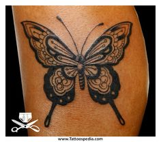 black and grey butterfly tattoos - Google zoeken