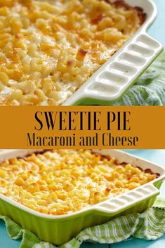 Copycat Recipe – Sweetie Pie's Macaroni and Cheese You can make a delicious baked Sweetie Pie Macaroni and Cheese recipe. Best Mac N Cheese Recipe, Best Macaroni And Cheese, Macaroni Cheese Recipes, Creamy Mac And Cheese, Mac And Cheese Homemade, Sweetie Pie's Macaroni And Cheese Recipe, Pasta Recipes, Mac And Cheese Recipe With Sour Cream, Dinner Recipes