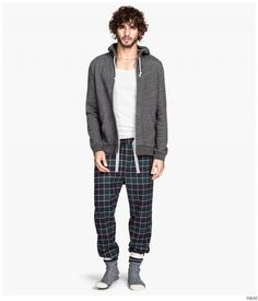 H&M Highlights Cozy & Classic Mens Loungewear + Pajamas image HM 2014 Mens Loungewear Pajamas 004 800x935