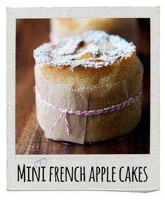 Mini-French Apple Cakes   17 Delicious Snacks To Make This Fall