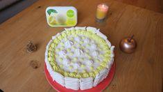 Pinky Cake, Vacherin glacé  #vacherin #glace #noel #meringue #dessertdenoel #pinkycake Sorbets, Meringue, Tasty, Desserts, Noel, Drizzle Cake, Ice, Food Porn, Recipes