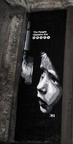 Street Art by Joe Iurato, The Underbelly Project, Philadelphia, 2011