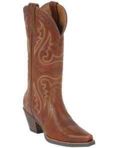 Ariat® Ladies Vintage Caramel Heritage X-Toe Western Boot