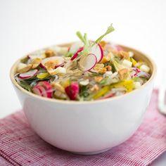 Salade fraîche aux vermicelles