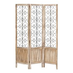 "Nicolette Room Divider  Dimensions: 72"" H x 48"" W x 1"" D (overall)"