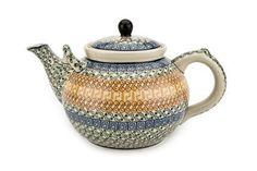 Polish Pottery Athena Large Teapot