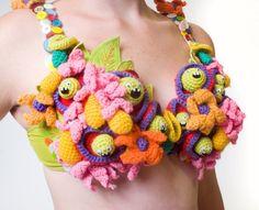 Monster Bras by Melissa Sixma, via Behance