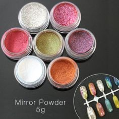 Mirror Nail Chrome Pigment Magic Powder