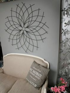 Metal wall art on pinterest - How to fish wire through exterior wall ...