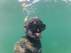 Clear waters, rare, Newport 2014 spearfishing