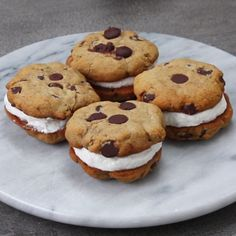 Healthier Froyo Cookie Sandwiches