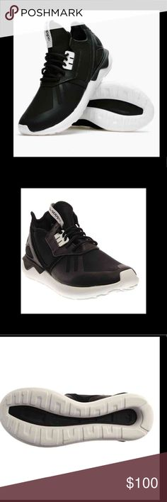 purchase cheap 41780 2ba5c New Adidas Tubular Runner Black White sneakers New Adidas Tubular Runner  Black White sneakers. adidas Shoes Sneakers
