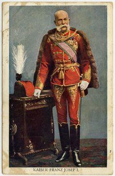 Franz Josef in hussar's uniform Die Habsburger, Franz Josef I, Otto Von Bismarck, Austrian Empire, Holy Roman Empire, Tsar Nicholas Ii, Age Of Empires, Austro Hungarian, Russian Fashion