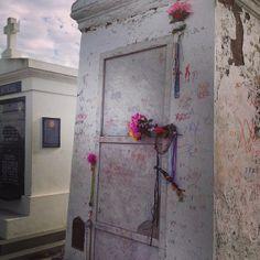Marie Laveau tomb #voodoo #neworleans #cemetary #nola