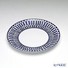 エルメス(HERMES)ブルーダイユールデザートプレート21.5cm