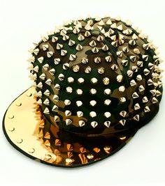 3e51518627a Hats ♡ · Unisex Hip Hop Camo Spike Stud Snapback Baseball Cap Hat on Etsy