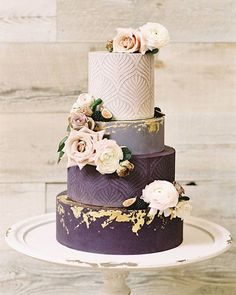 wedding cakes lavender wedding cakes lavender Must See Hottest Mauve Wedding Decorations for Your Upcoming Day-mauve purple wedding cakes with floral toppers Blush Wedding Cakes, Pretty Wedding Cakes, Creative Wedding Cakes, Mauve Wedding, Wedding Cake Roses, Wedding Cake Designs, Wedding Cake Purple, Wedding Themes, Wedding Colors