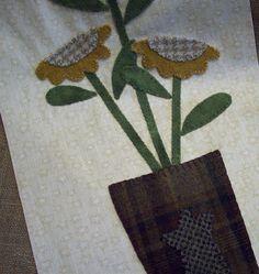 Cottons 'n Wool: Wool applique tutorial
