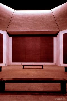 Rothko Chapel, 1971, Houston, Texas | Philip Johnson, Mark Rothko