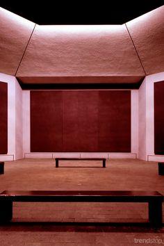 Interior of Rothko Chapel