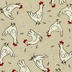 Linen Chicken 1 - Cotton - Polyester - natural