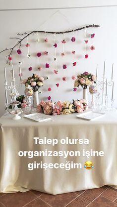 Nişan masası / Nişan Organizasyonu / Handmade / Engagement Events