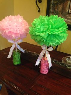 Cheer Banquet Centerpieces | FFA | Pinterest